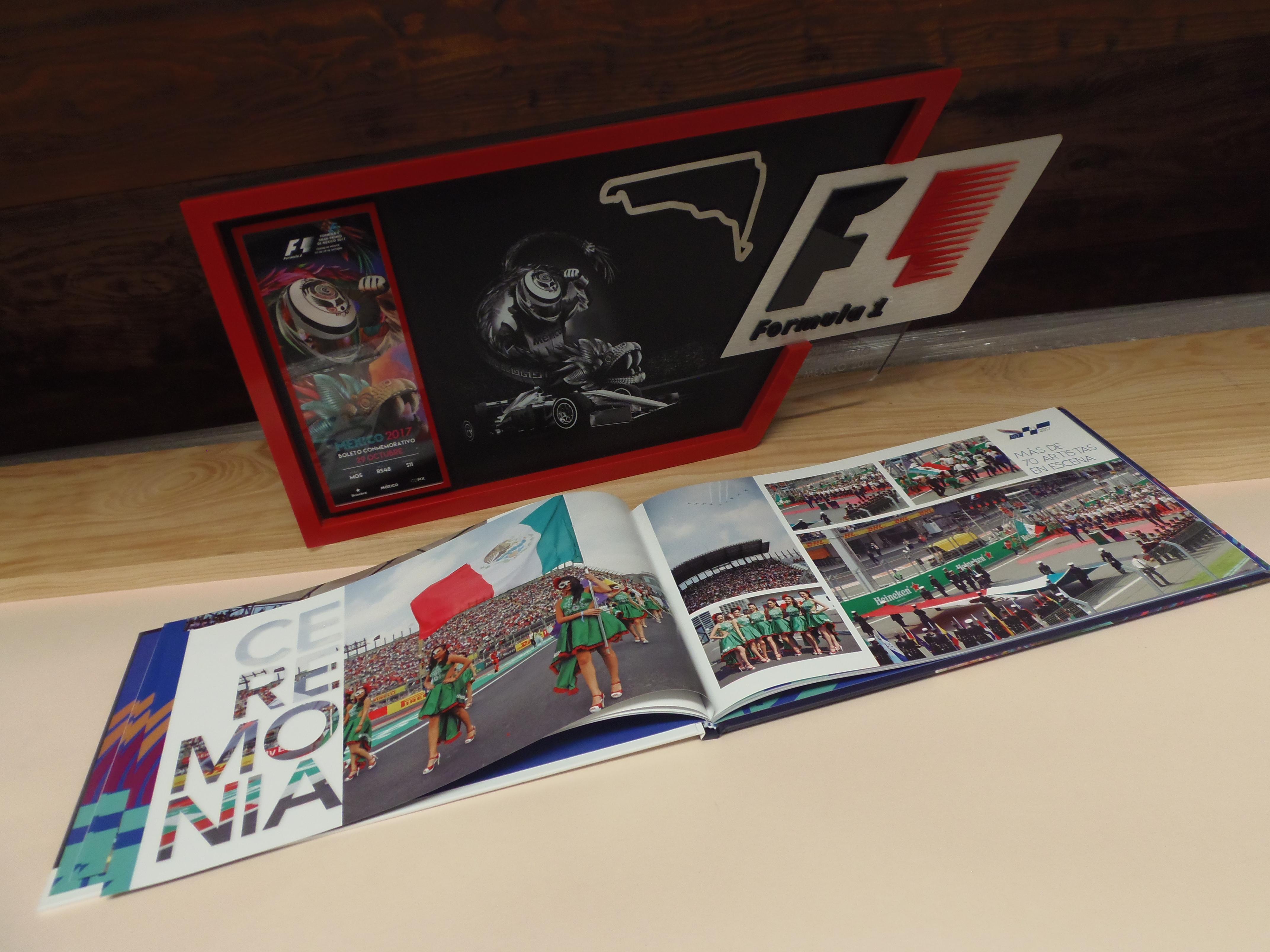 Libro Memoria Fórmula 1 - México 2017